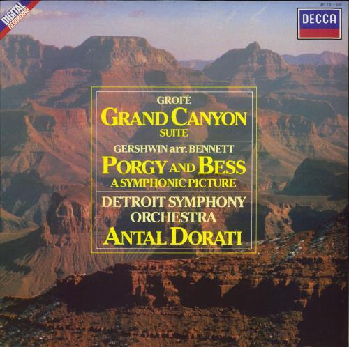 Various-Classical & Orchestral Grand Canyon Suite / Porgy And Bess (A Symphonic Picture) vinyl LP album (LP record) UK VAFLPGR693433