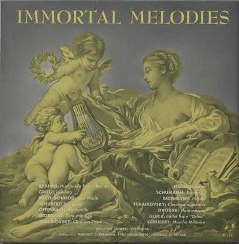 Various-Classical & Orchestral Immortal Melodies vinyl LP album (LP record) UK VAFLPIM660986