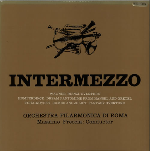 Various-Classical & Orchestral Intermezzo vinyl LP album (LP record) UK VAFLPIN612241