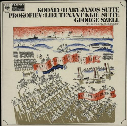 Various-Classical & Orchestral Kodály: Háry János Suite / Prokofiev: Lieutenant Kijé Suite vinyl LP album (LP record) UK VAFLPKO612282