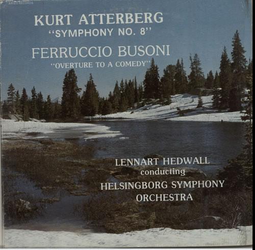 Various-Classical & Orchestral Kurt Atterberg: Symphony No. 8 / Ferruccio Busoni: Overture To A Comedy vinyl LP album (LP record) US VAFLPKU632311