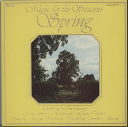 Various-Classical & Orchestral Music For The Seasons - Spring vinyl LP album (LP record) UK VAFLPMU643784