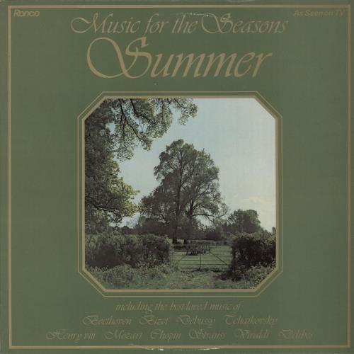 Various-Classical & Orchestral Music For The Seasons - Summer vinyl LP album (LP record) UK VAFLPMU643785