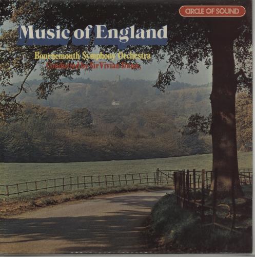 Various-Classical & Orchestral Music Of England vinyl LP album (LP record) UK VAFLPMU667693