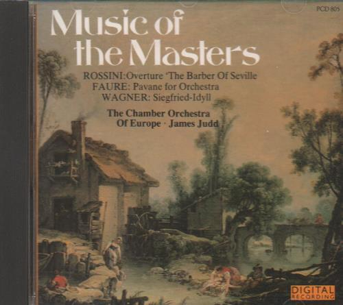 Various-Classical & Orchestral Music Of The Masters CD album (CDLP) UK VAFCDMU661438