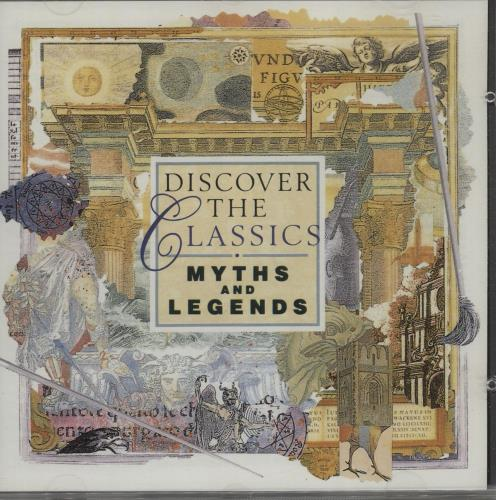 Various-Classical & Orchestral Myths And Legends CD album (CDLP) French VAFCDMY666308