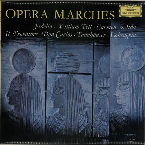 Various-Classical & Orchestral Opera Marches vinyl LP album (LP record) Austrian VAFLPOP639656