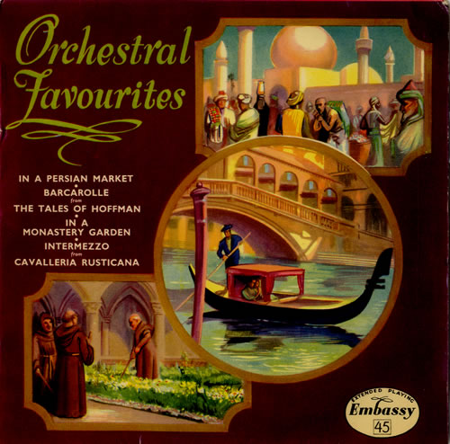 """Various-Classical & Orchestral Orchestral Favourites 7"""" vinyl single (7 inch record) UK VAF07OR573811"""