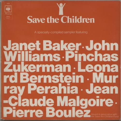Various-Classical & Orchestral Save The Children vinyl LP album (LP record) UK VAFLPSA673869