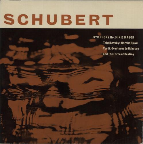 Various-Classical & Orchestral Schubert / Verdi / Tchaikovsky vinyl LP album (LP record) UK VAFLPSC671555