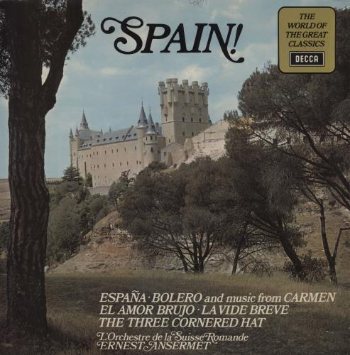 Various-Classical & Orchestral Spain! vinyl LP album (LP record) UK VAFLPSP758928