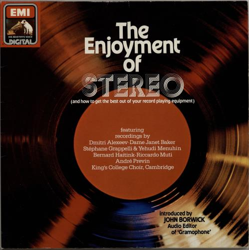 Various-Classical & Orchestral The Enjoyment Of Stereo vinyl LP album (LP record) German VAFLPTH764267