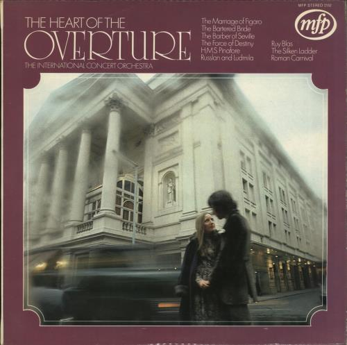 Various-Classical & Orchestral The Heart Of The Overture vinyl LP album (LP record) UK VAFLPTH701451