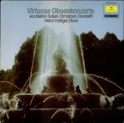 Various-Classical & Orchestral Virtuose Oboenkonzerte vinyl LP album (LP record) German VAFLPVI540007