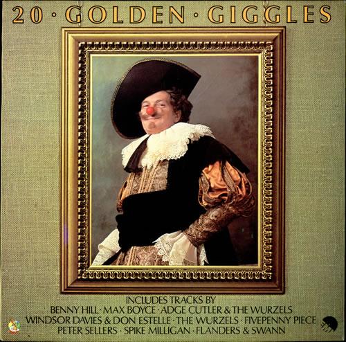 Various-Comedy 20 Golden Giggles vinyl LP album (LP record) UK V/CLPGO499429