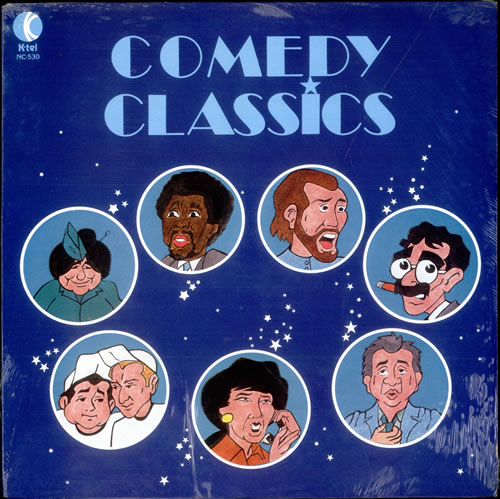 Various-Comedy Comedy Classics - Sealed vinyl LP album (LP record) Canadian V/CLPCO516533