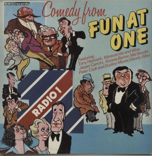 Various-Comedy Comedy From Fun At One vinyl LP album (LP record) UK V/CLPCO670561