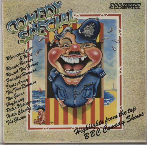 Various-Comedy Comedy Special vinyl LP album (LP record) UK V/CLPCO665417