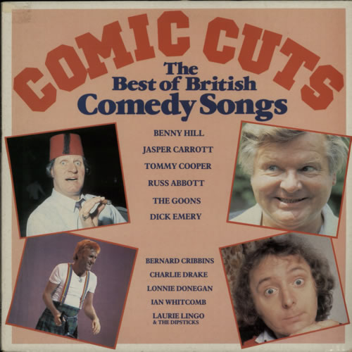 Various-Comedy Comic Cuts The Best Of British Comedy Songs vinyl LP album (LP record) UK V/CLPCO614614