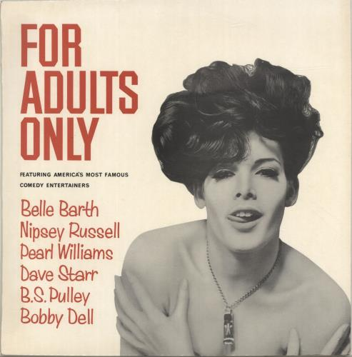 Various-Comedy For Adults Only vinyl LP album (LP record) UK V/CLPFO696921