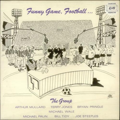 Various-Comedy Funny Game, Football... vinyl LP album (LP record) UK V/CLPFU548496