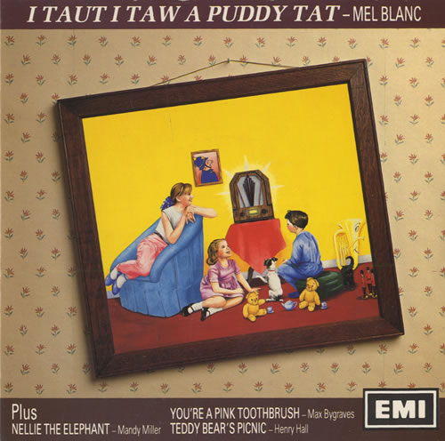 "Various-Comedy I Taut I Taw A Puddy Tat 7"" vinyl single (7 inch record) UK V/C07IT521643"