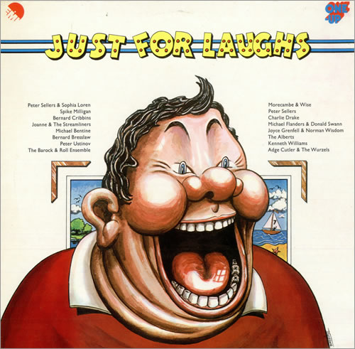 Various-Comedy Just For Laughs vinyl LP album (LP record) UK V/CLPJU478920