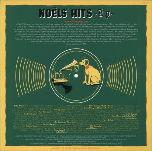 Various-Comedy Noels Hits LP vinyl LP album (LP record) UK V/CLPNO730936