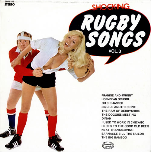 Various-Comedy Shocking Rugby Songs Vol. 3 vinyl LP album (LP record) UK V/CLPSH462182