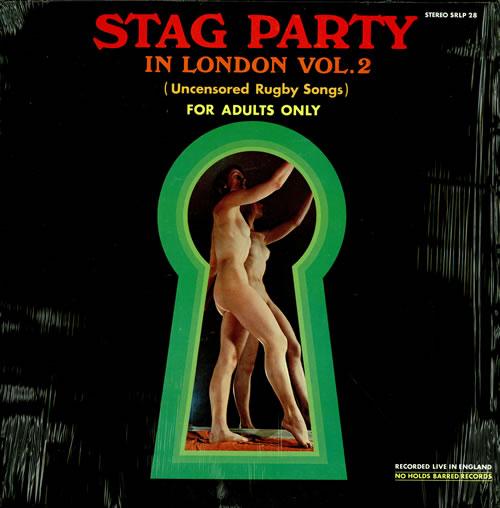 Various-Comedy Stag Party In London Vol. 2 vinyl LP album (LP record) US V/CLPST457439
