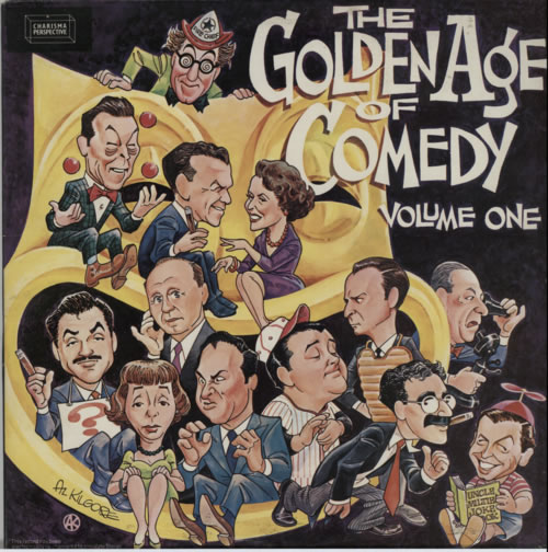 Various-Comedy The Golden Age Of Comedy 2-LP vinyl record set (Double Album) UK V/C2LTH594531