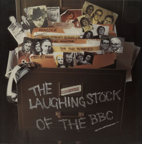 Various-Comedy The Laughing Stock Of The BBC vinyl LP album (LP record) UK V/CLPTH614626