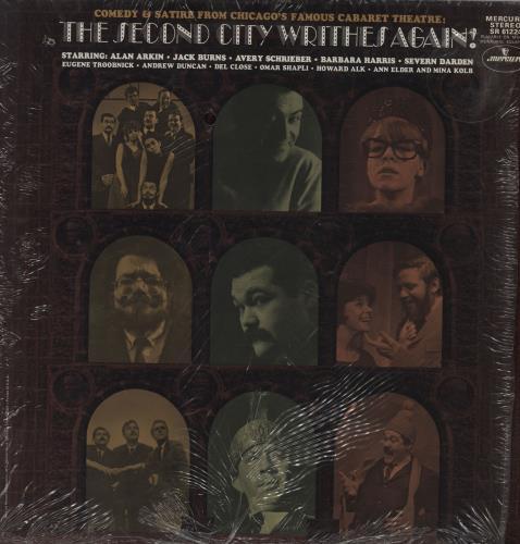 Various-Comedy The Second City Writhes Again vinyl LP album (LP record) US V/CLPTH761859