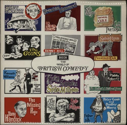 Various-Comedy The World Of British Comedy vinyl LP album (LP record) UK V/CLPTH645318