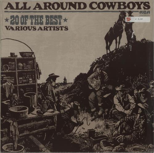 Various-Country All Around Cowboys - 20 Of The Best vinyl LP album (LP record) German CVALPAL674099