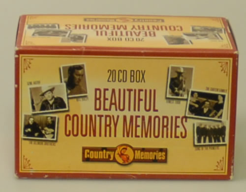 Various-Country Beautiful Country Memories CD Album Box Set Dutch CVADXBE614828
