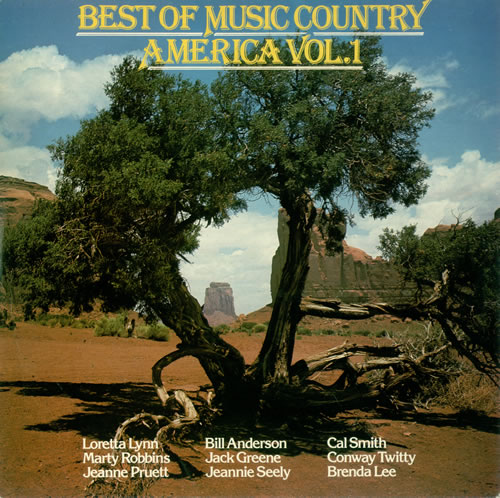 Various-Country Best Of Music Country America Vol. 1 vinyl LP album (LP record) UK CVALPBE496696