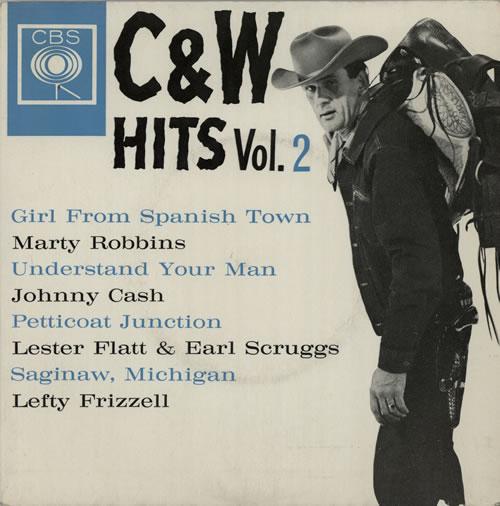 "Various-Country C & W Hits Vol.2 7"" vinyl single (7 inch record) UK CVA07CW577519"