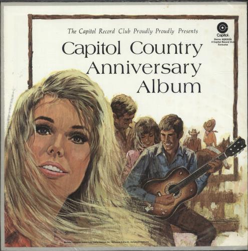 Various-Country Capitol Country Anniversary Album 2-LP vinyl record set (Double Album) US CVA2LCA699785