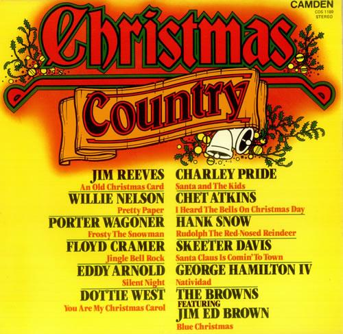 Various-Country Christmas Country vinyl LP album (LP record) UK CVALPCH457323