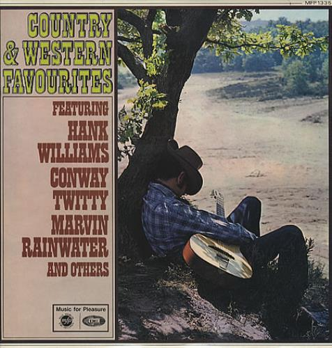 Various-Country Country & Western Favourites vinyl LP album (LP record) UK CVALPCO328653