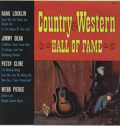 Various-Country Country & Western Hall Of Fame vinyl LP album (LP record) UK CVALPCO329212