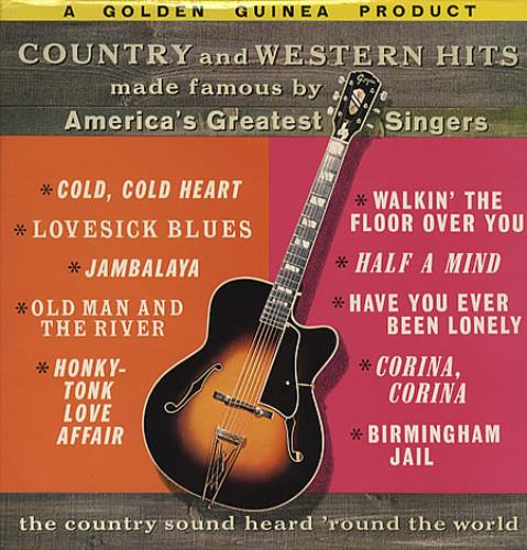 Various-Country Country And Western Hits vinyl LP album (LP record) UK CVALPCO328726