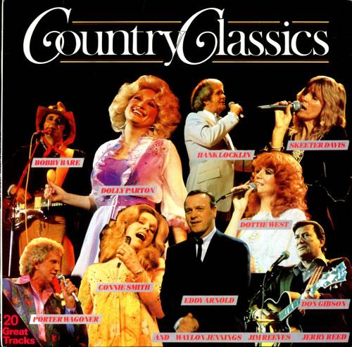 Various-Country Country Classics vinyl LP album (LP record) UK CVALPCO524637