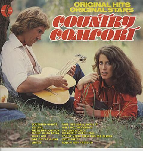 Various-Country Country Comfort vinyl LP album (LP record) Australian CVALPCO305914
