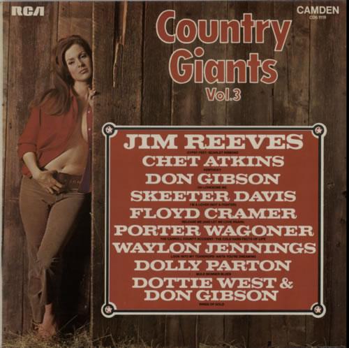 Various-Country Country Giants Vol. 3 vinyl LP album (LP record) UK CVALPCO608086