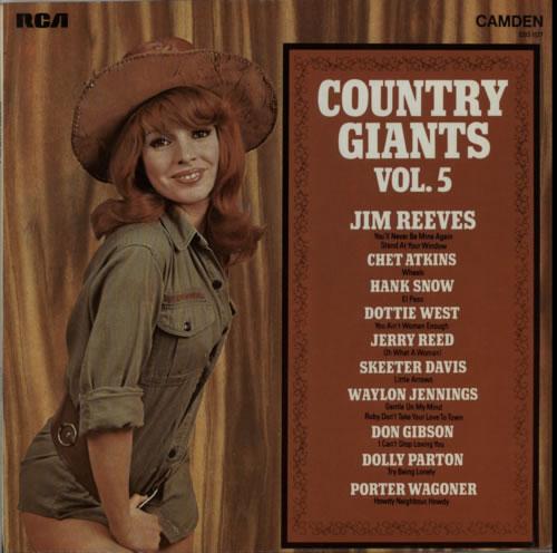 Various-Country Country Giants Vol. 5 vinyl LP album (LP record) UK CVALPCO608085