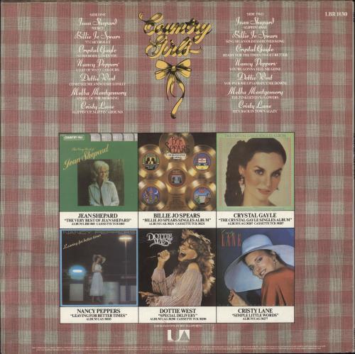 Various-Country Country Girls vinyl LP album (LP record) UK CVALPCO746587