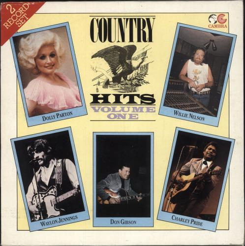 Various-Country Country Hits Volume One 2-LP vinyl record set (Double Album) UK CVA2LCO745259