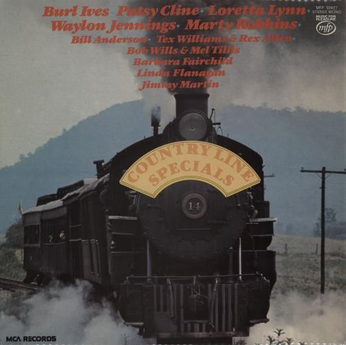 Various-Country Country Line Specials vinyl LP album (LP record) UK CVALPCO762564